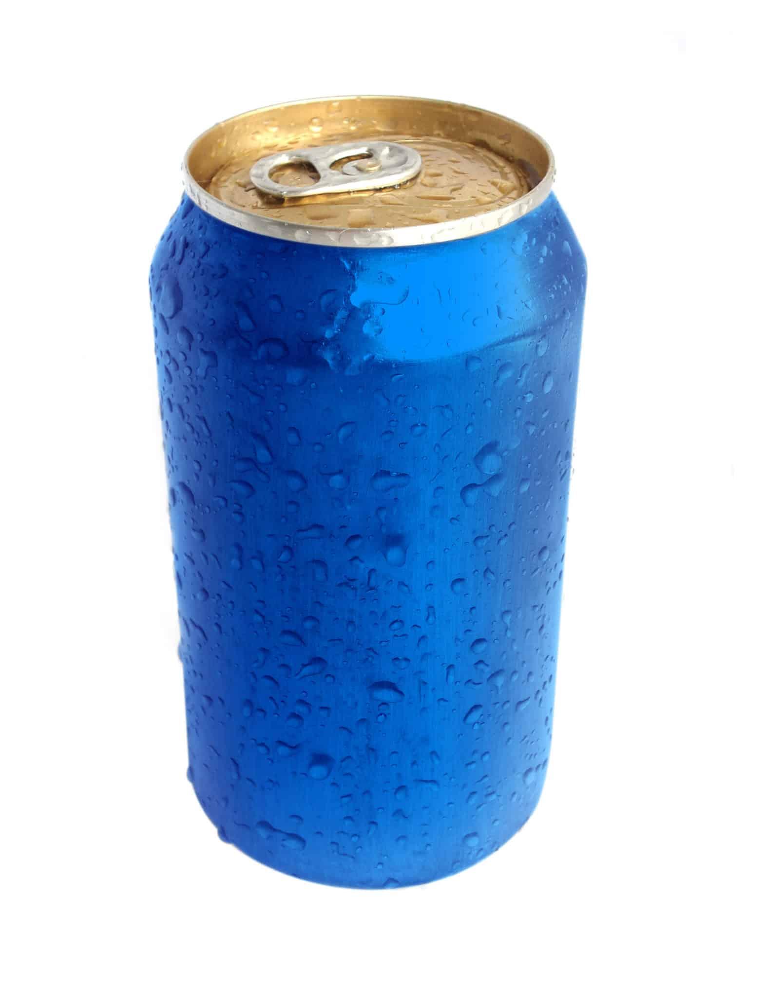 Drink Can From Blank Aluminum Stock Photo: Shawn Soszka, N.D., L.Ac